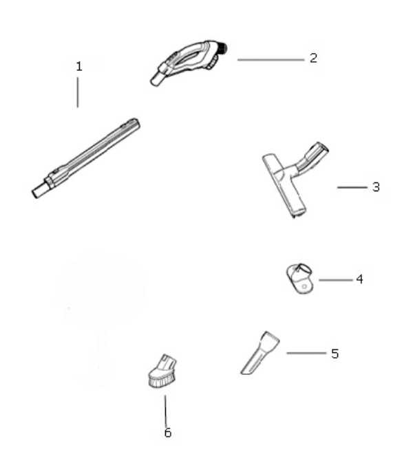 Electrolux Ultraactive Canister Parts El4300a