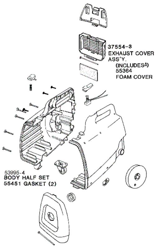 eureka vacuum diagrams and schematics 3109am