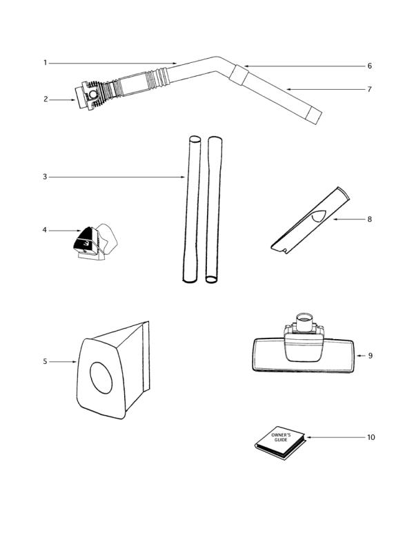 eureka 3672b 1 mighty mite vacuum factory parts diagrams. Black Bedroom Furniture Sets. Home Design Ideas