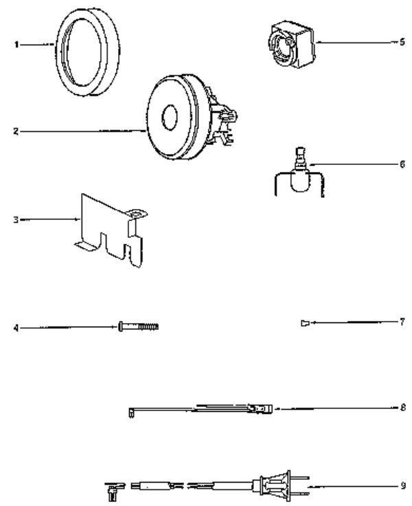 eureka 3674a mighty mite vacuum factory parts diagrams and schematics  evacuumstore com