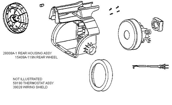 eureka 3679b mighty mite vacuum factory parts diagrams and schematics  evacuumstore com