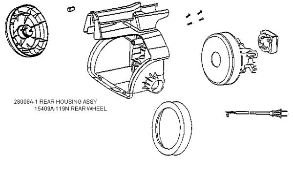 eureka 3682d mighty mite vacuum diagram evacuumstore