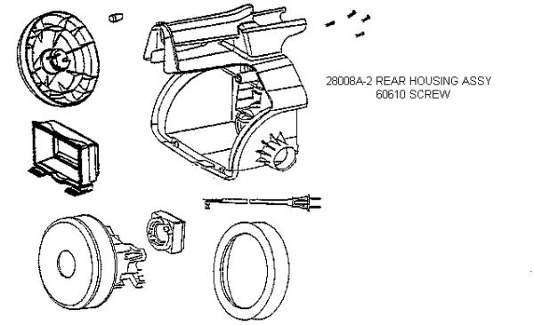 Eureka 3685b Mighty Mite Vacuum Diagram Evacuumstore Com