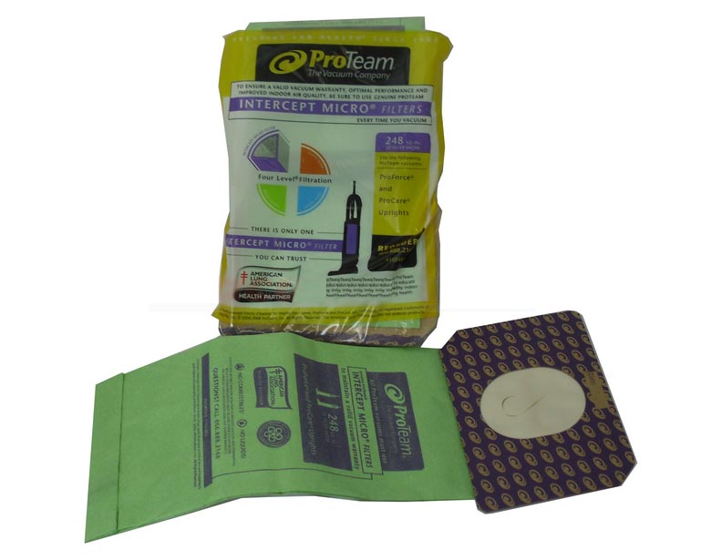 ProTeam Upright Vacuum Cleaner Bags