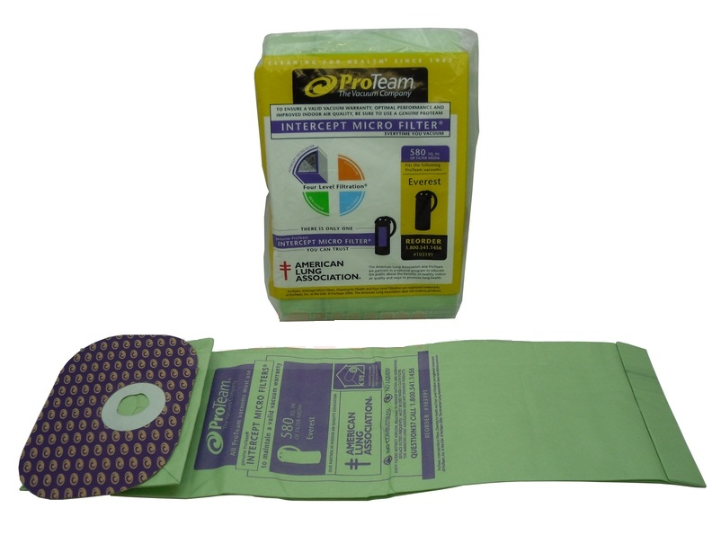 ProTeam Everest & Hummer Vacuum Bags