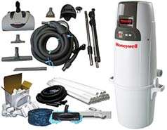 Honeywell Central Vacuum Builders Packages