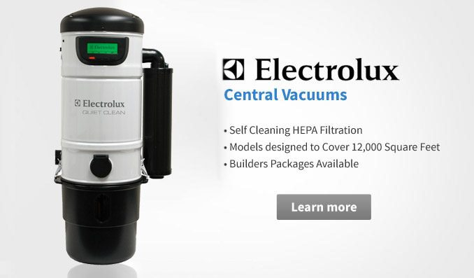 Electrolux central vacuums
