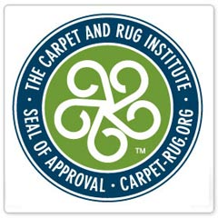 The Carpet and Rug Institute approved vacuums