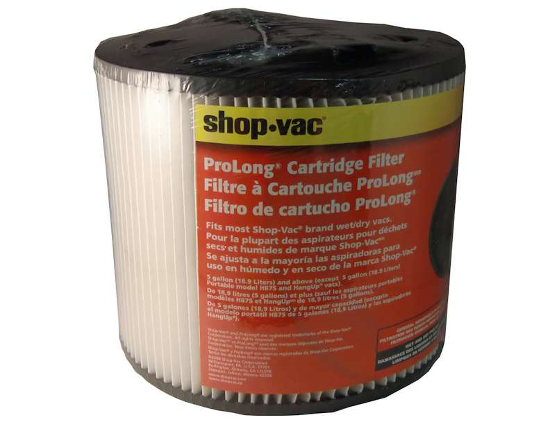 Shop Vac Cartridge Filter Type U