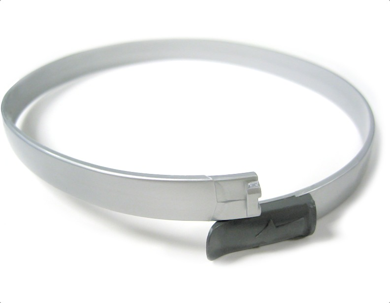 Felix Exhaust filter clamp - silver