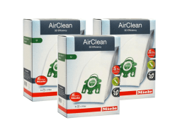 Miele AirClean Filter Bags Type U - 12 Pack