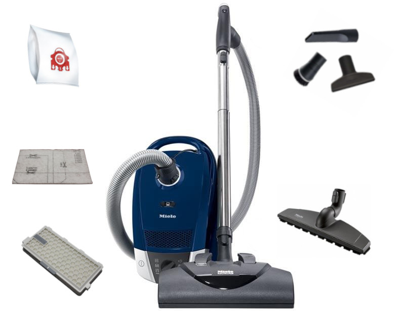 Miele Compact C2 ElectroPlus Canister Vacuum Cleaner