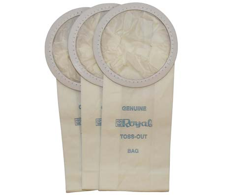 Royal Style H Vacuum Bags 3 Pack Genuine
