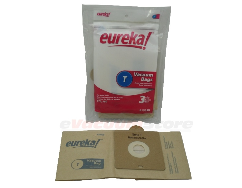 Eureka Mini Canister Paper Bag Package