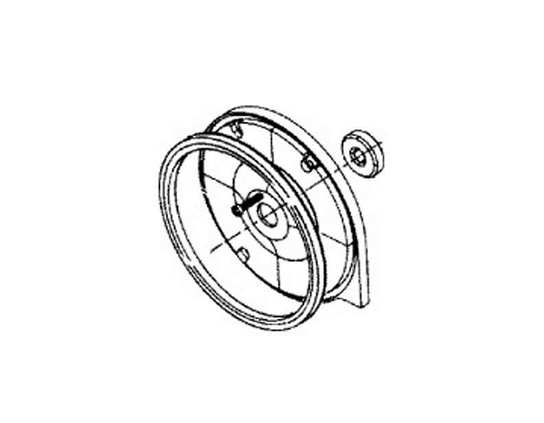Kirby Sentria Bearing Plate Assembly