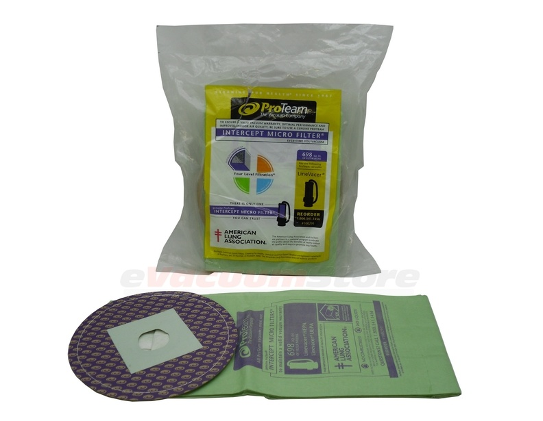 ProTeam Intercept Micro Filter Vacuum Bags 100291