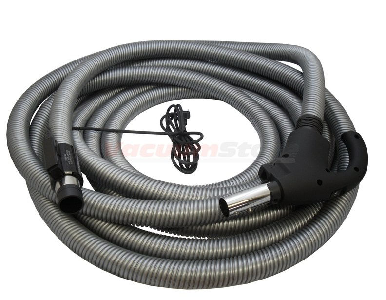 Cen-Tec 35 FT Central Vacuum Hose W/ Pig-Tail