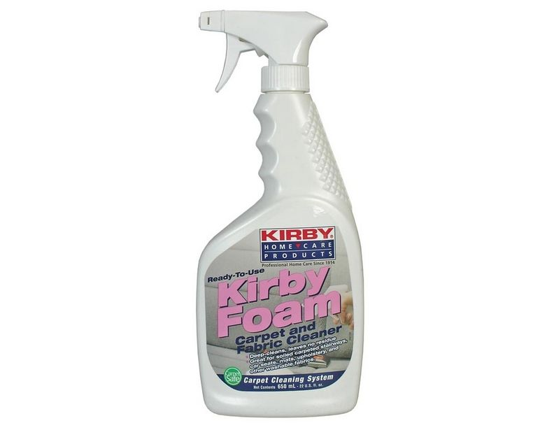 Kirby Foam Carpet and Fabric Cleaner 22oz