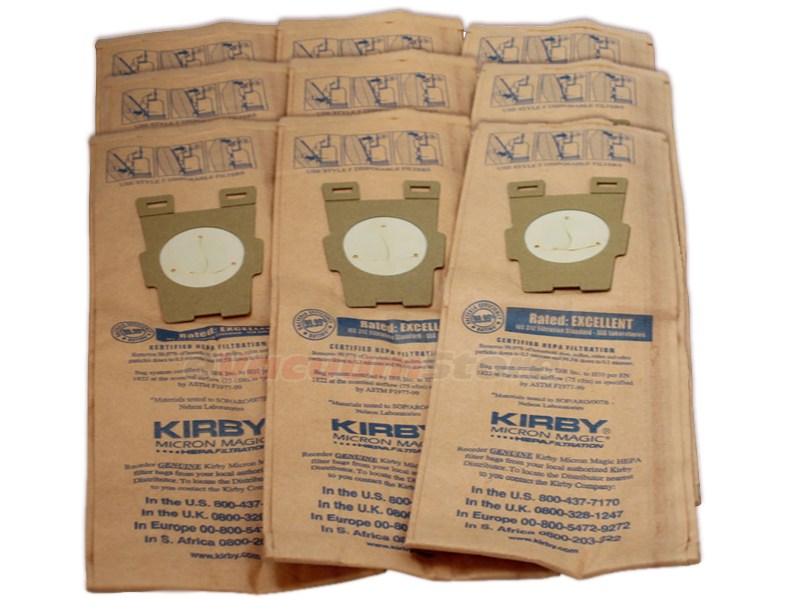Kirby Micron Magic Hepa Style F Bags 9 Pack