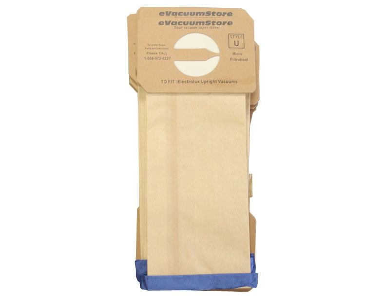 Electrolux 50 Pack Generic Upright Bags Style U
