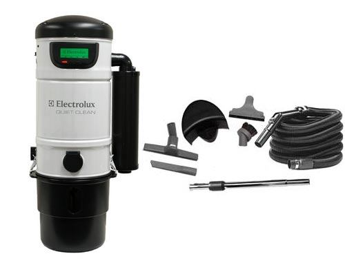 electrolux pu3900 central vac with standard kit. Black Bedroom Furniture Sets. Home Design Ideas