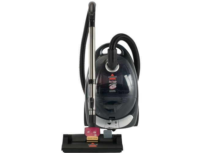 Bissell Pet Hair Eraser Bagless Cyclonic Canister Vacuum