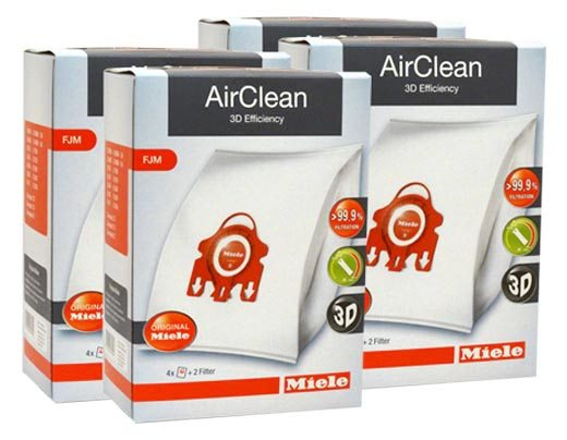 Miele Airclean Filter Bags Type Fjm 16 Pack