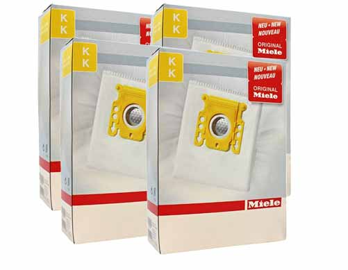 Miele Intensiveclean Plus Filter Bags Type K 20 Pack