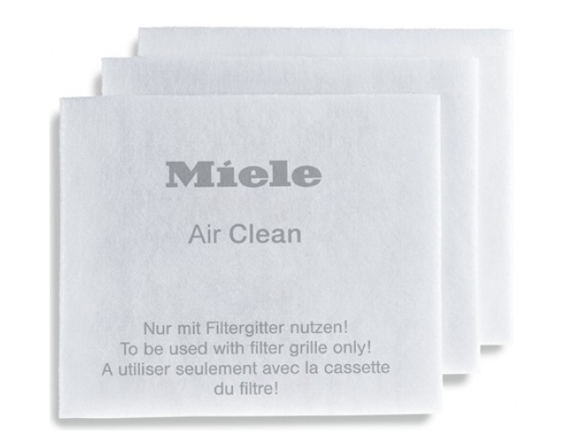 Miele Air Clean Filter For Stick Vacuums - 3 Pack