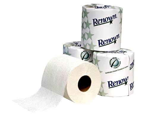 Green Seal Certified 2 Ply Toilet Paper-1 Roll