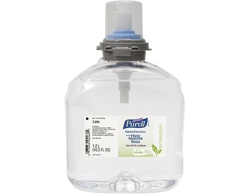Green Seal Certified Purell Hand Sanitizer 12 OZ