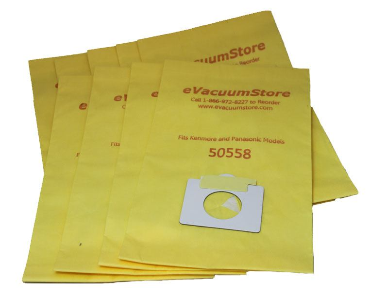 Kenmore Canister Vacuum Bags Type C and Q - 100 Pack