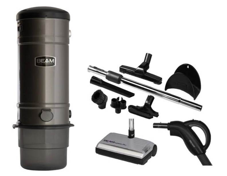 Beam 3500C Deluxe Central Vacuum Package