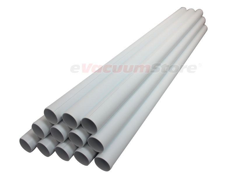 100 Foot PVC Central Vacuum Pipe