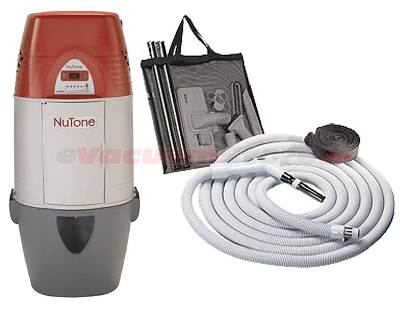 Nutone Cyclonic VX1000C Central Vacuum Standard Package