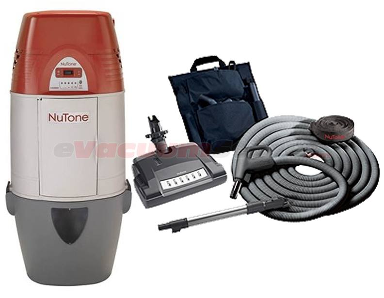 Nutone Cyclonic VX1000C Central Vacuum and Deluxe Electric Attachment Package