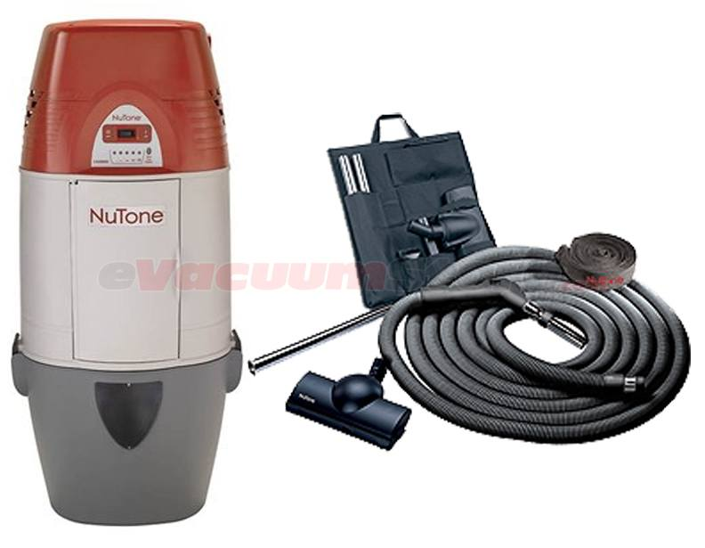 Nutone Cyclonic VX1000C Central Vacuum Deluxe Air Package