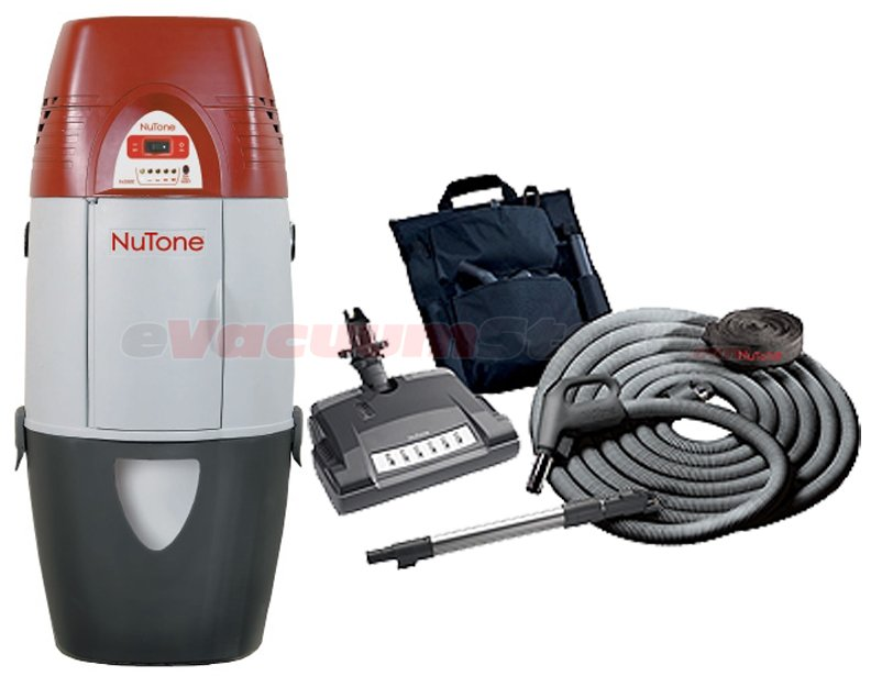 NuTone VX550 Bagged Central Vacuum w/ Deluxe Attachment Kit