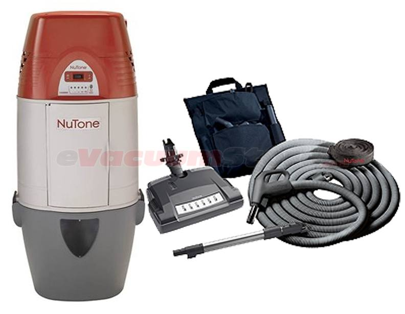 NuTone Cyclonic VX550C Central Vacuum and Deluxe Accessories Package