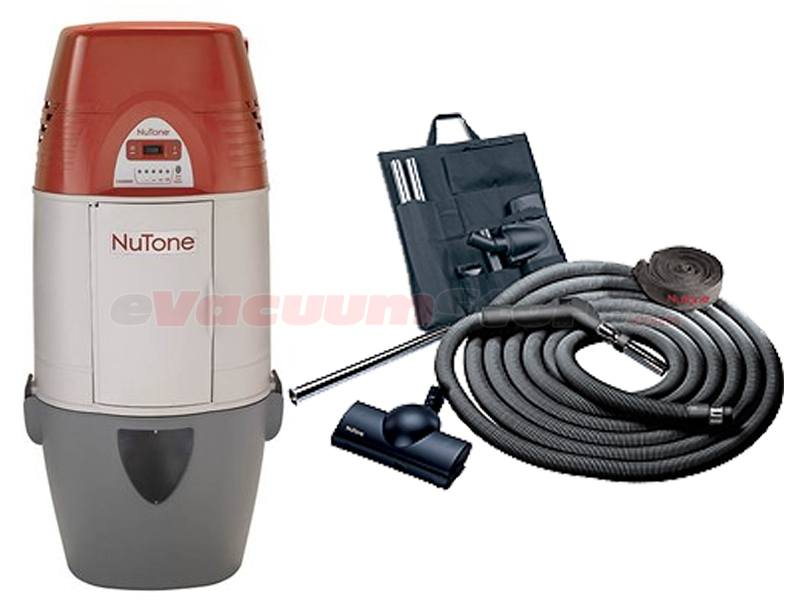 NuTone Cyclonic VX550C Central Vacuum Deluxe Air Package