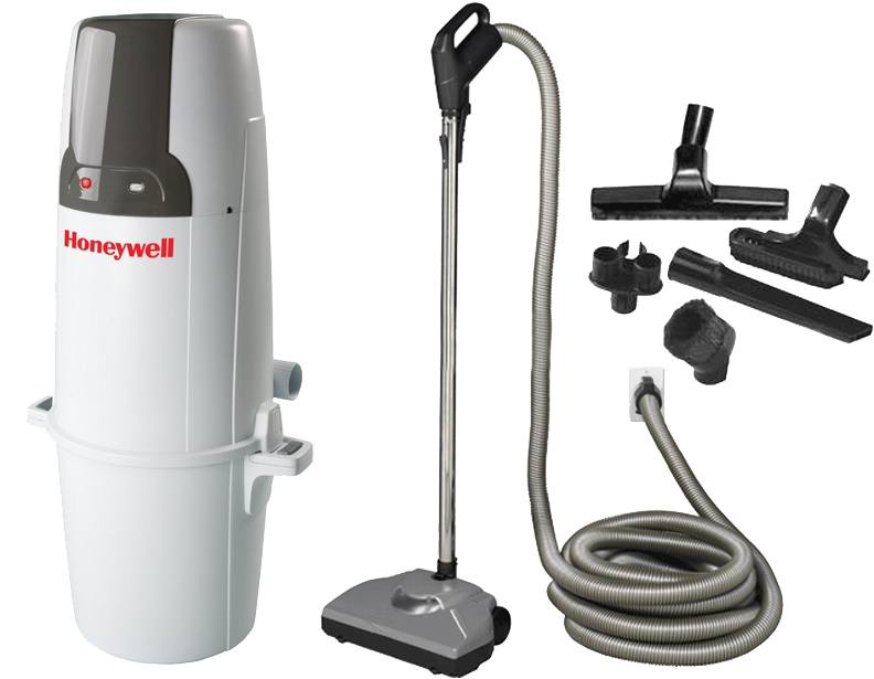 Honeywell 4B-H750 Starter Central Vacuum Package