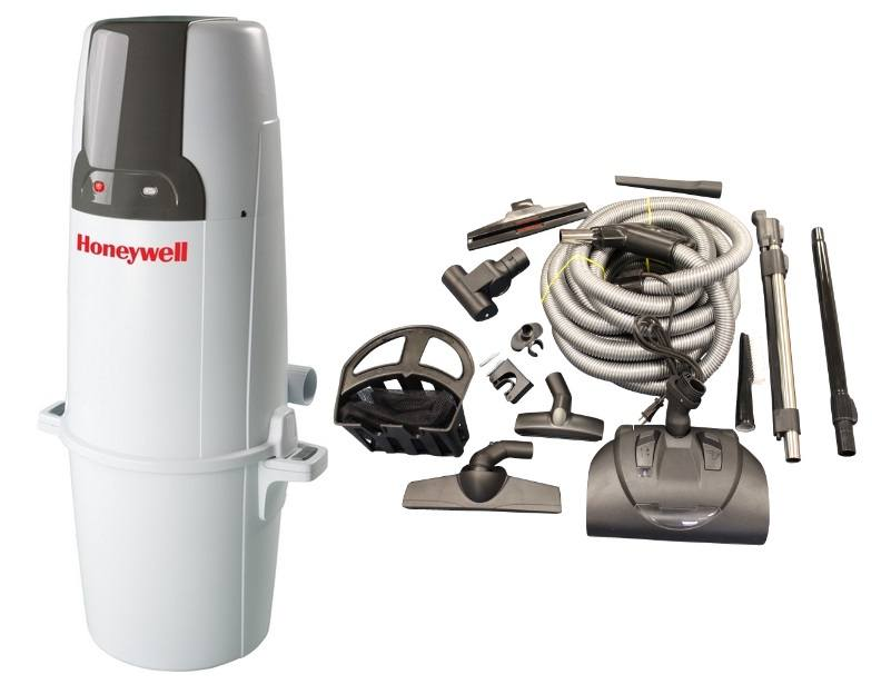 Honeywell 4B-H750 and KCH13840 Select Electric Central Vacuum Package
