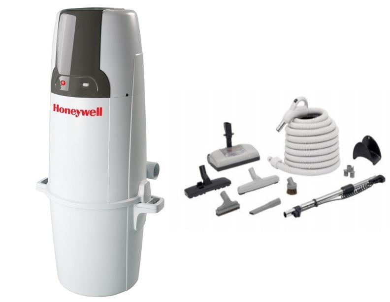 Honeywell 4B-H750 and H205 Elite Electric Central Vacuum Package