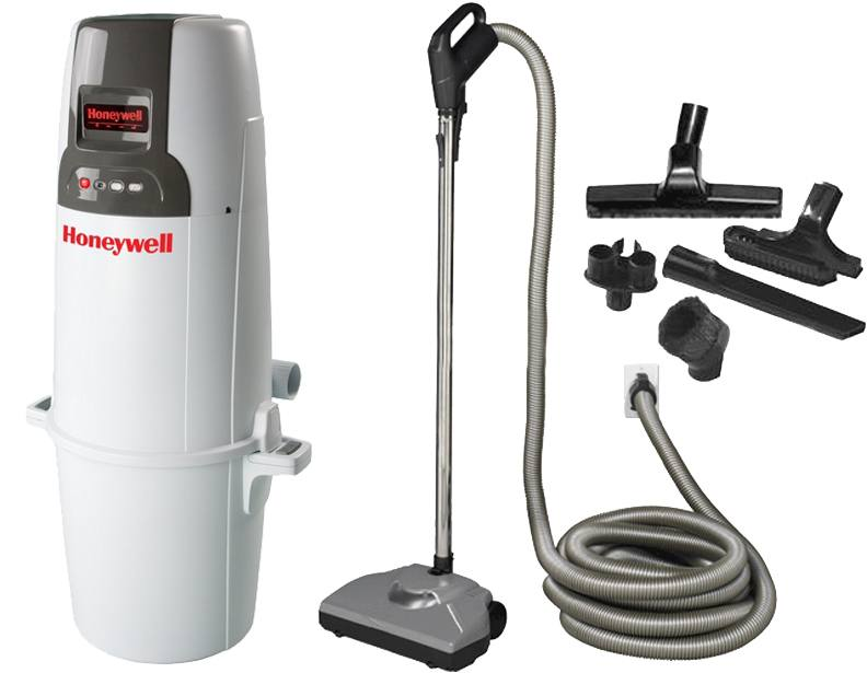 Honeywell 4B-H850 and H100 Starter Central Vacuum Package