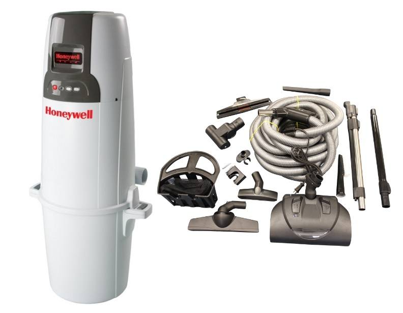 Honeywell 4B-H850 and KCH13840 Select Electric Central Vacuum Package