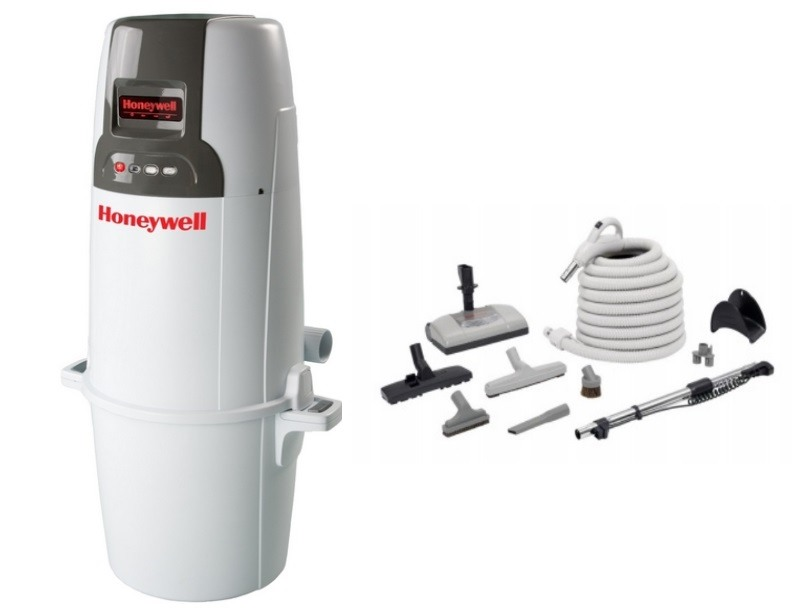 Honeywell 4B-H850 and H205 Elite Electric Central Vacuum Package