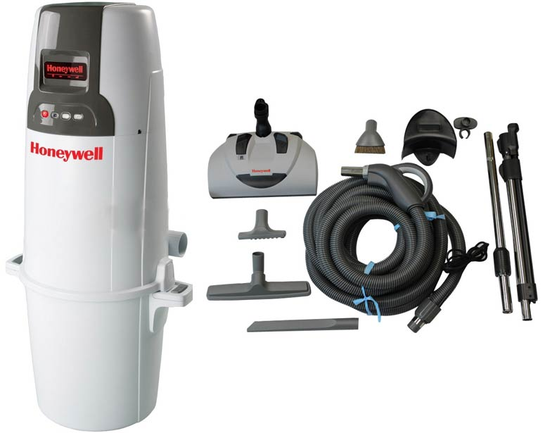 Honeywell 4B-H850 and H300 Elite Electric Central Vacuum Package