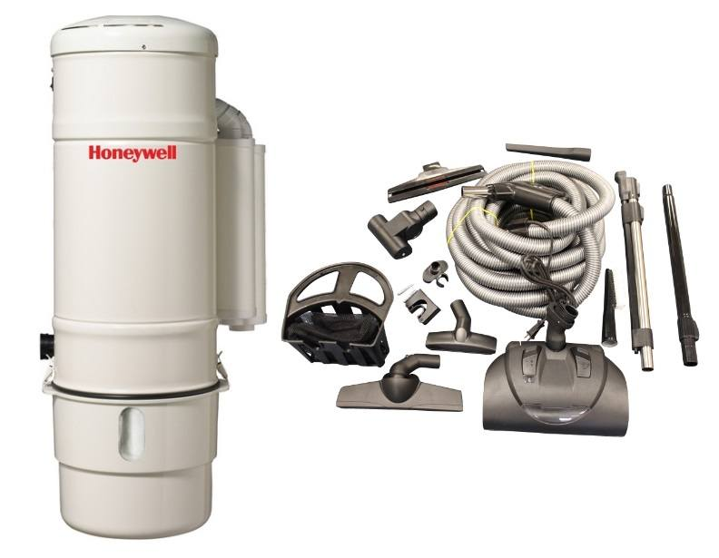 Honeywell 4B-H803 and KCH13840 Select Electric Central Vacuum Package