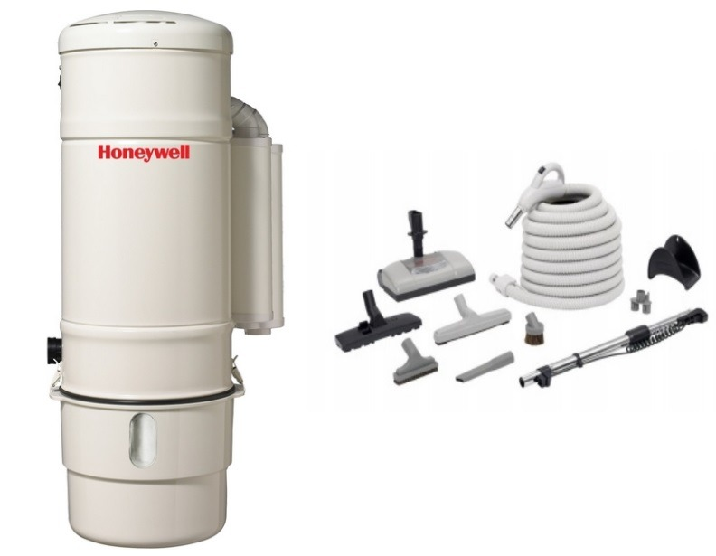 Honeywell 4B-H803 and H205 Elite Electric Central Vacuum Package
