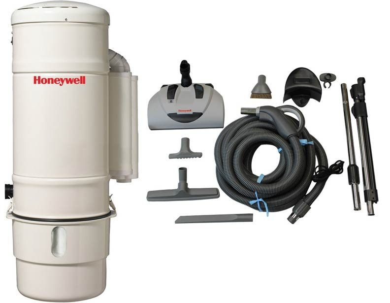 Honeywell 4B-H803 and H400 Premier Electric Central Vacuum Package